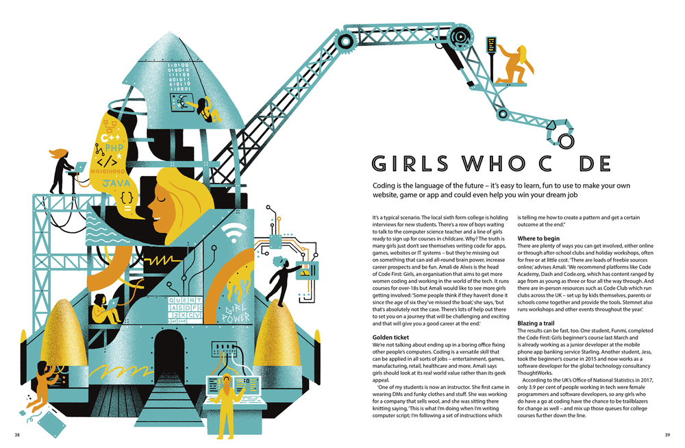 Girls Who Code for TEEN Breathe Magazine