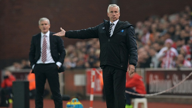 Alan Pardew no encontró la tecla ante el Stoke (Fotografía: Newcastle United)