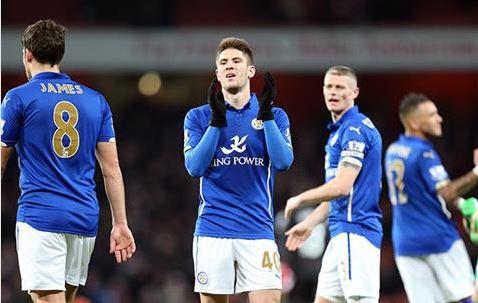 Andrej Kramaric marcó su primer gol como fox (Fotografía: Leicester City)