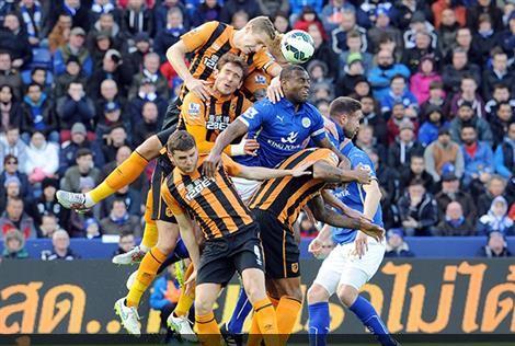 Duro y trabado partido en el King Power (Fotografía: Leicester City)