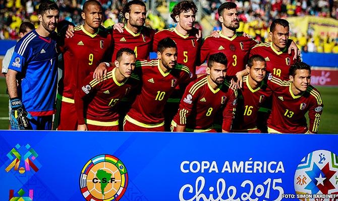 Venezuela cayó en un grupo con Brasil, Perú y Colombia (Fotografía: Simón Bardinet, FVF)