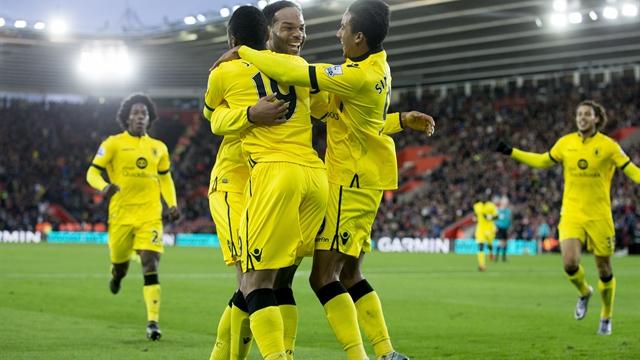 Joleon Lescott celebra su gol al Southampton | Fotografía: Aston Villa FC