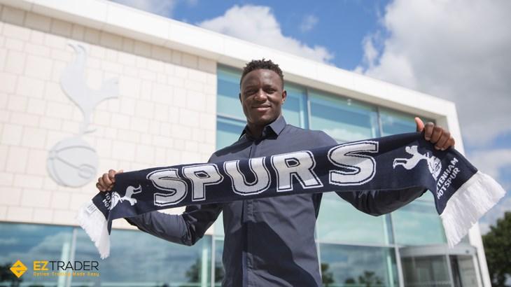 Victor Wanyama, en las instalaciones del Tottenham | Fotografía: Tottenham Hotspur