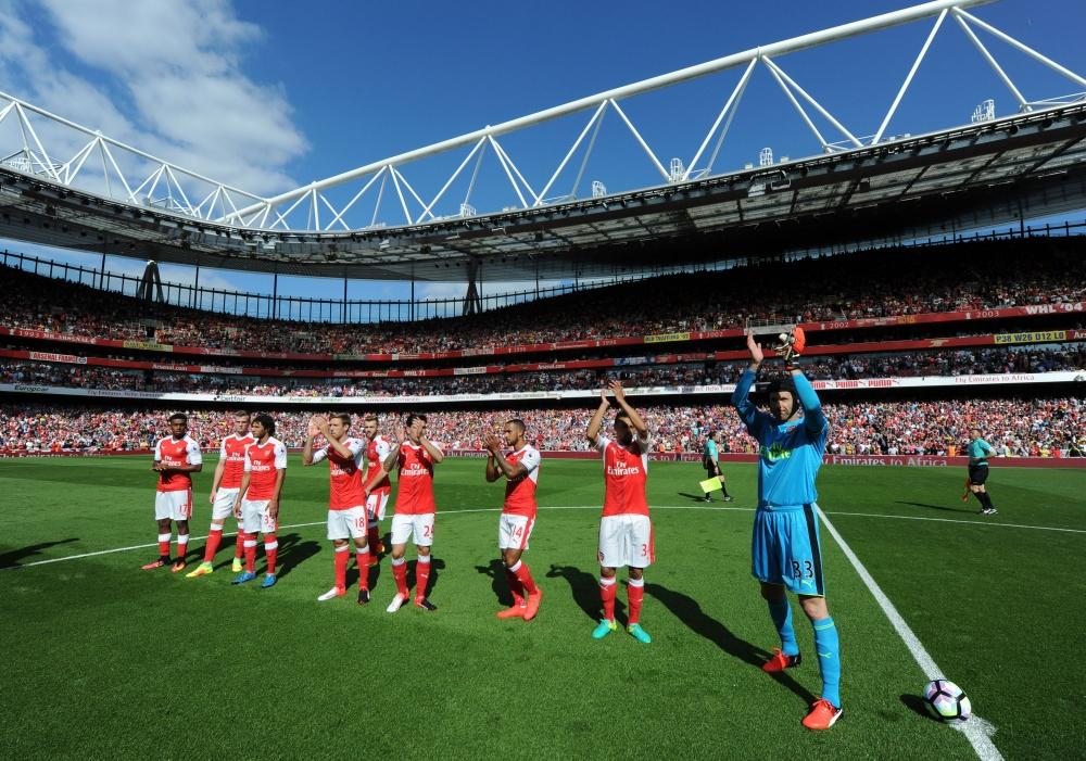 Petr Cech ejerció como capitán en la primera jornada | Fotografía: Arsenal pics