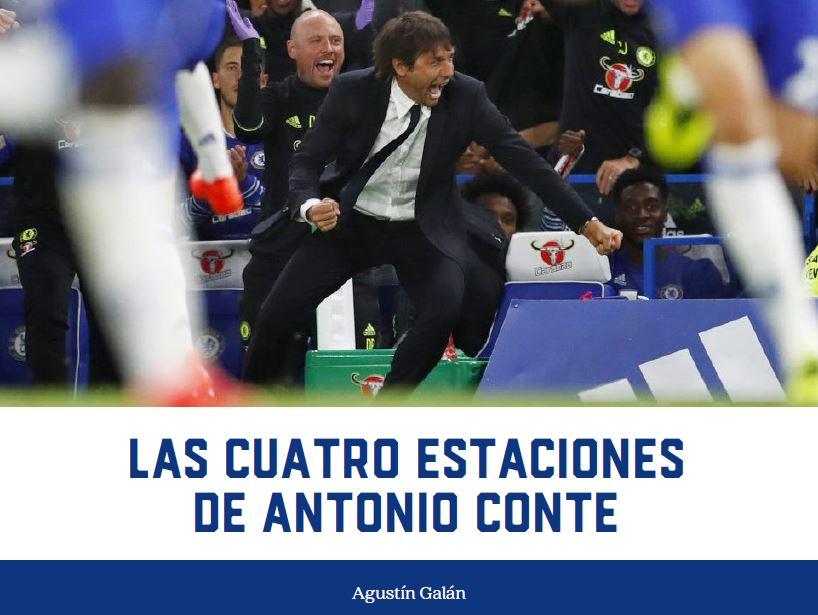 Las cuatro estaciones de Antonio Conte