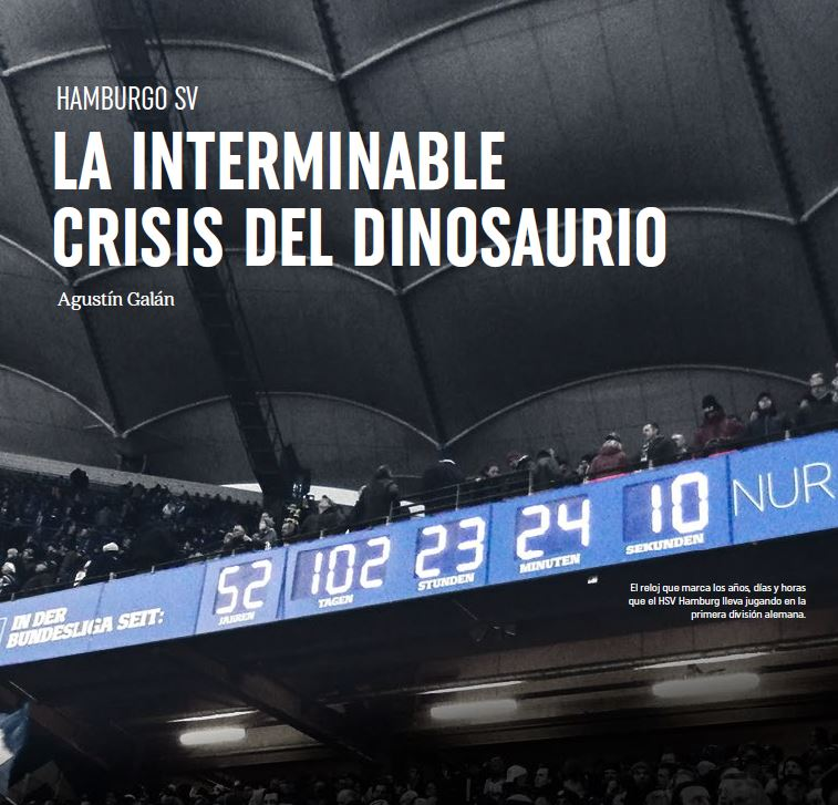 Hamburgo SV. La interminable crisis del dinosaurio