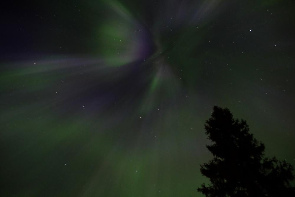 Aurora Borealis near Girdwood, Alaska