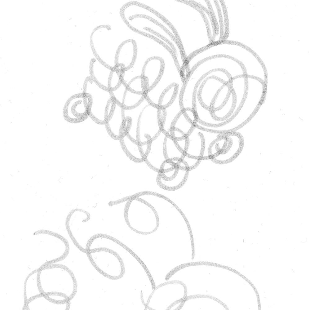 Lots of doodle dust balls