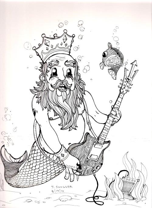 Poseidon's Guitar