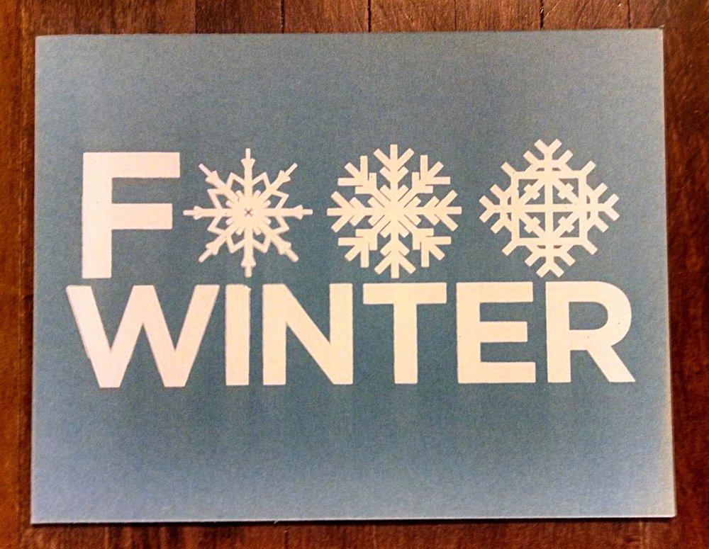 F*** Winter