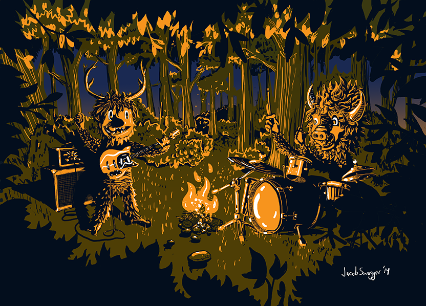 Forest Jams After Dark