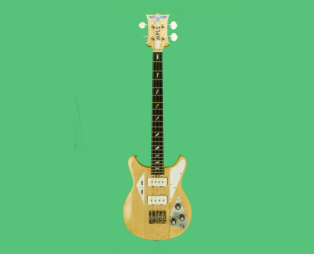 Bass Guitar, Maple