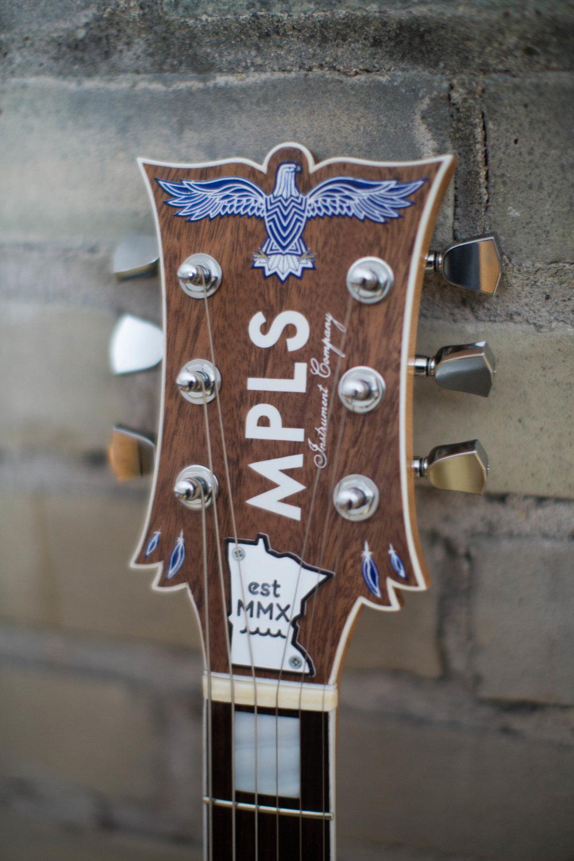 MPLS Headstock, Ca. 2014