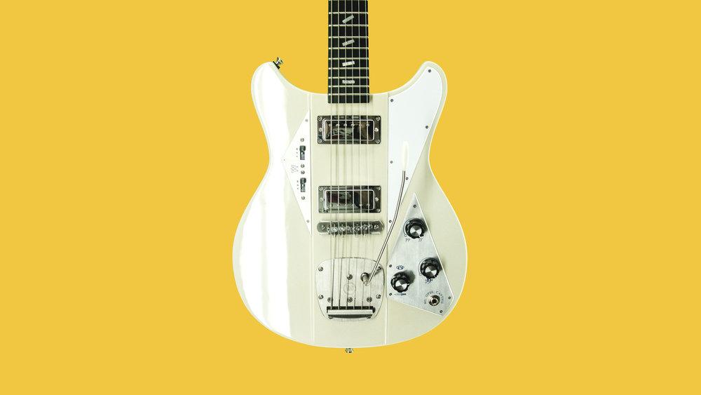 Guitar, white