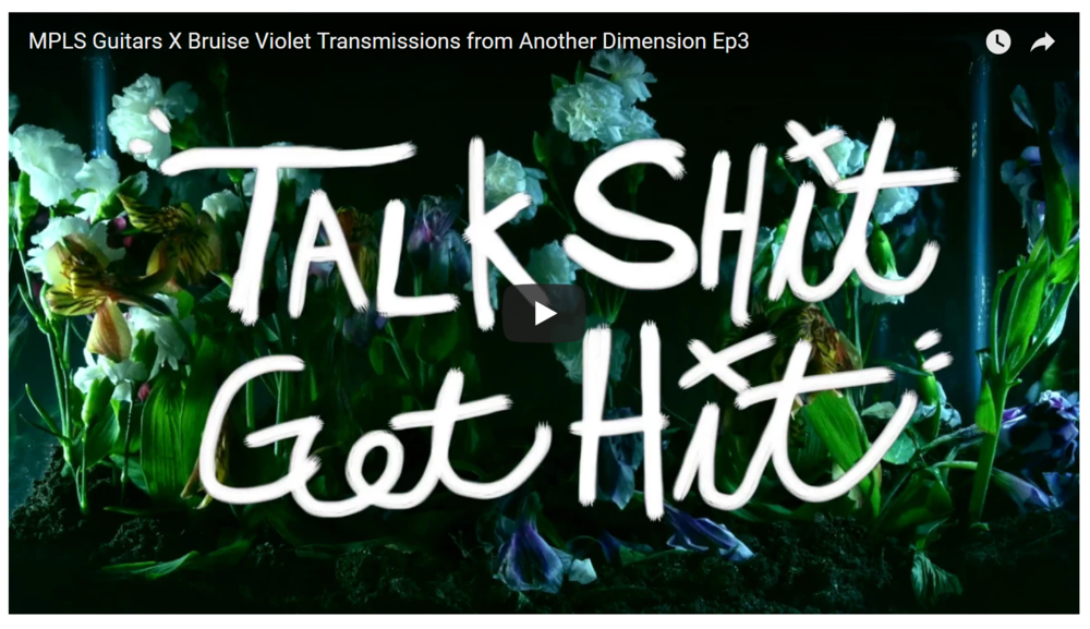 """Talk Shit Get Hit"" Title Card"