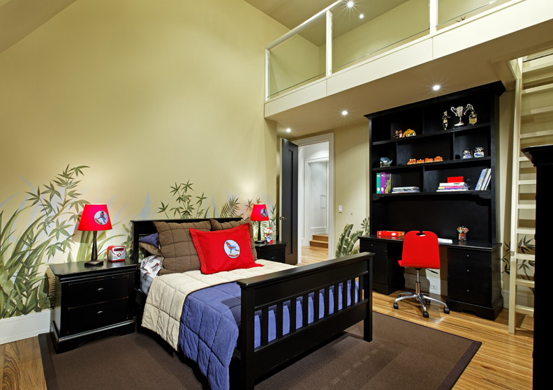 Contemporary douglas design studio for Room decor ideas for 12 year old boy