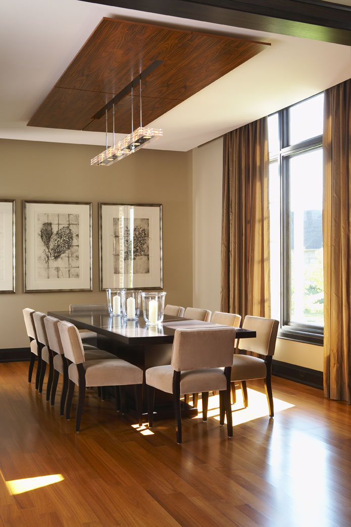 Country Urban Dining Room