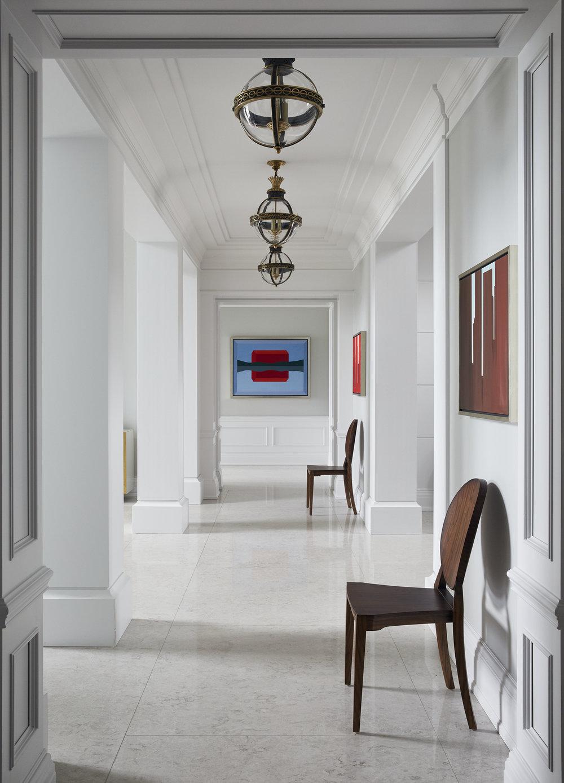 Lake View Home Hallway
