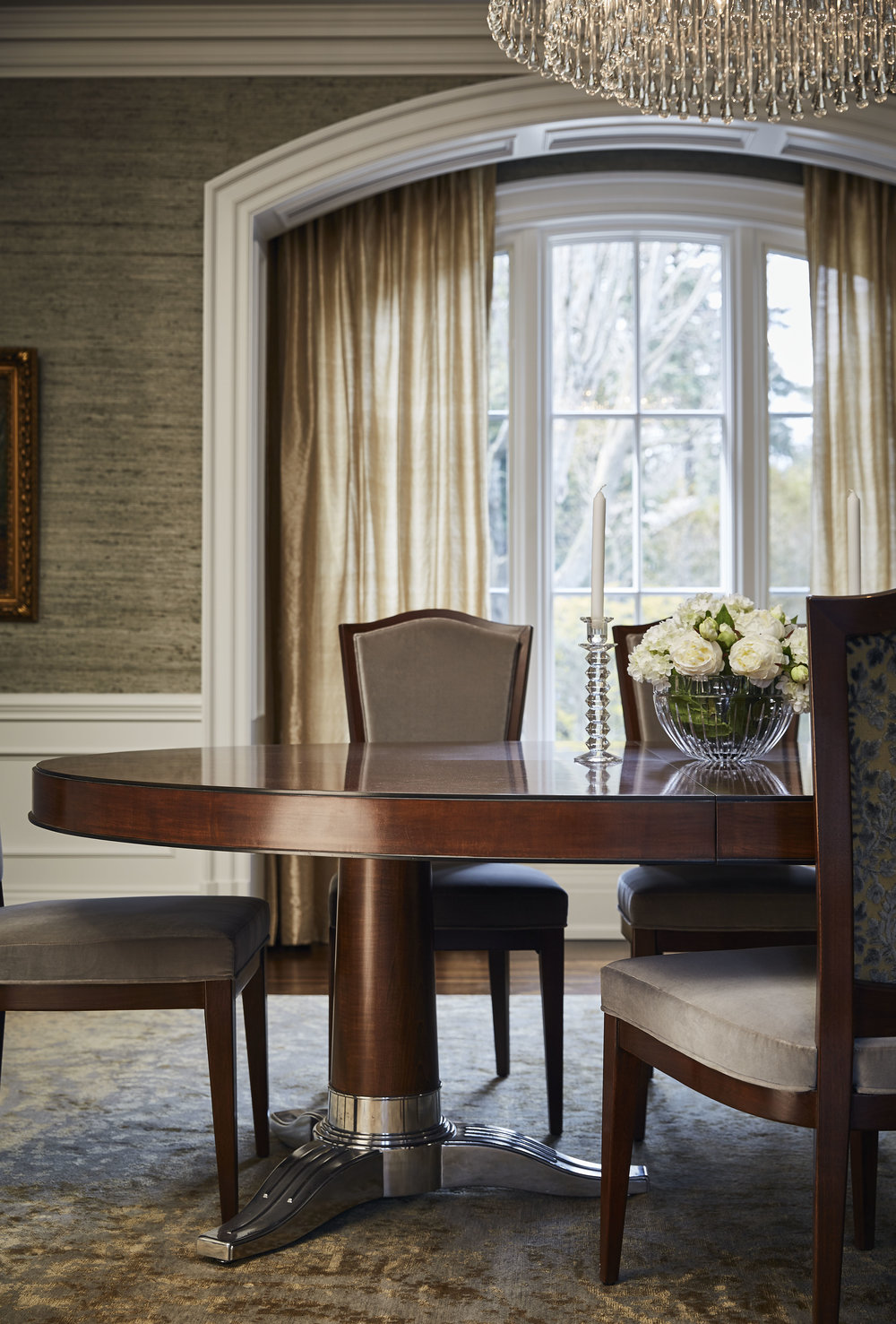 Lake View Home Dining Room