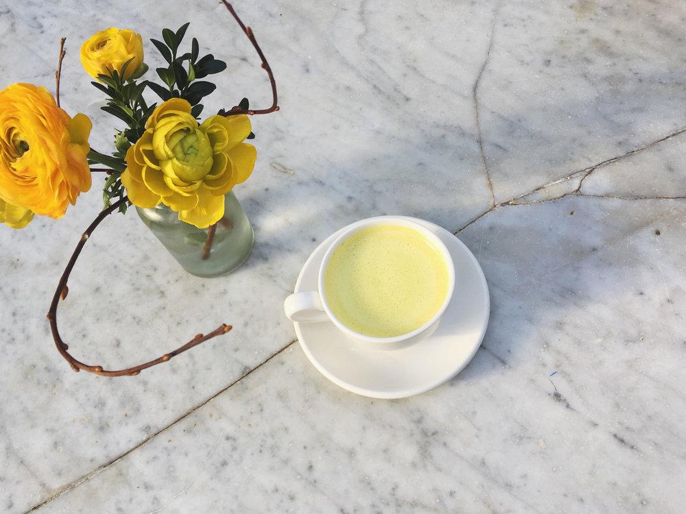 Golden Mylk turmeric latte Wunder Workshop