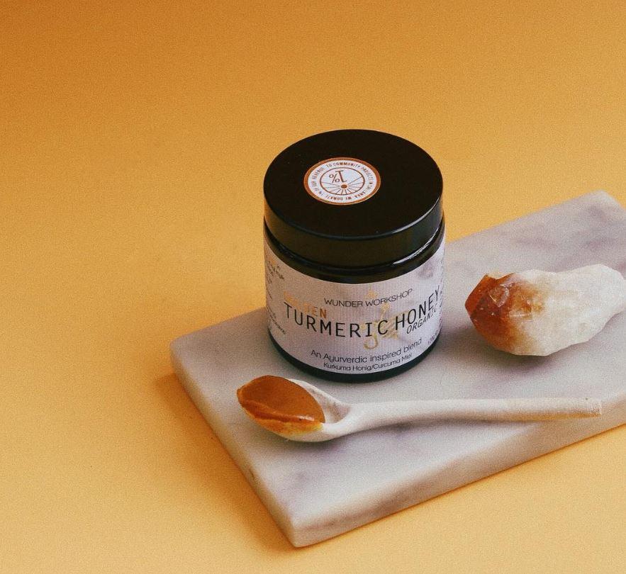 Golden Turmeric Honey Wunder Workshop