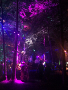 Wandering through the grounds of The Woodlands on Thursday night, excited to see what was new, what had changed, and explore the sights of Firefly 2015.