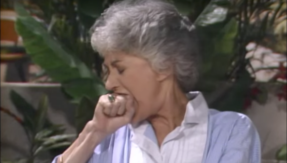 Dorothy Bites Her Knuckles