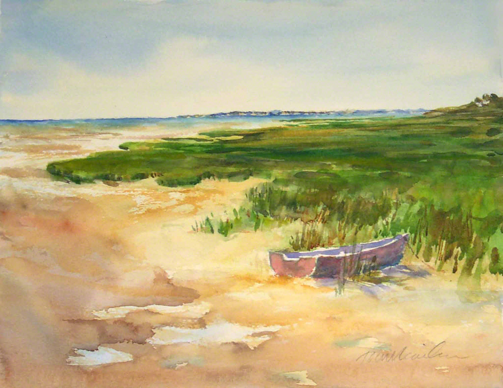 Boat in the Marsh