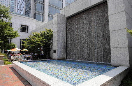 Moroccan Fountain on 5th Ave North, downtown Birmingham
