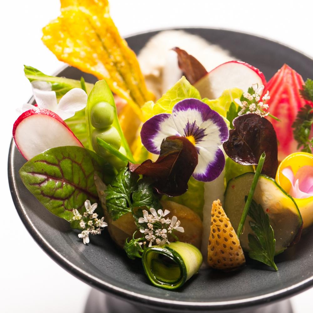 Petite summer salad