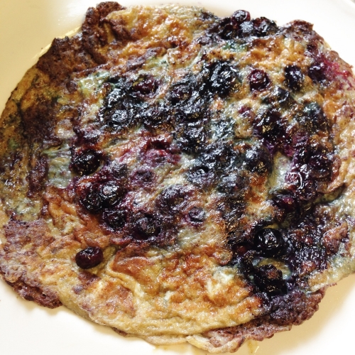 Sweet & Savory Blueberry Tortilla
