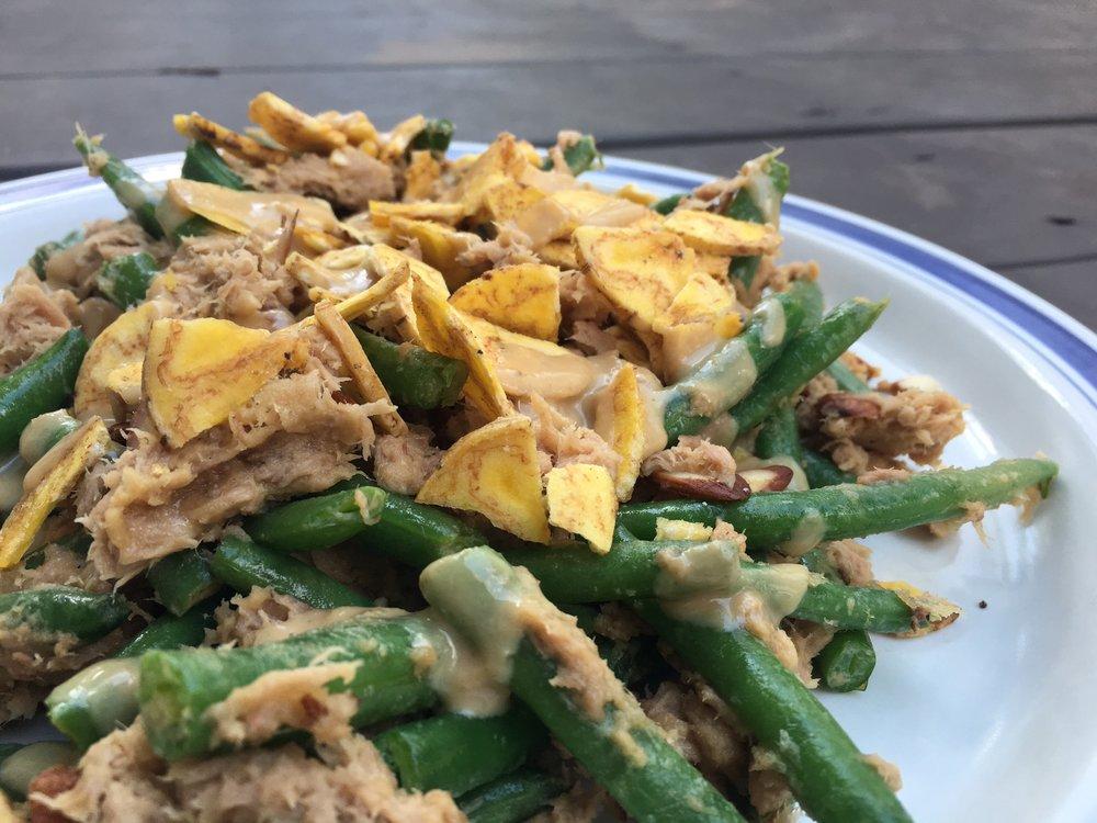 3-Minute Tuna Green Bean Casserole