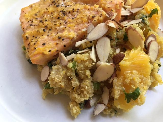 Citrus Salmon & Jeweled Quinoa