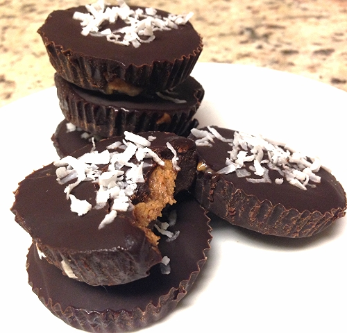 Chocolate Mocha Almond Butter Cups