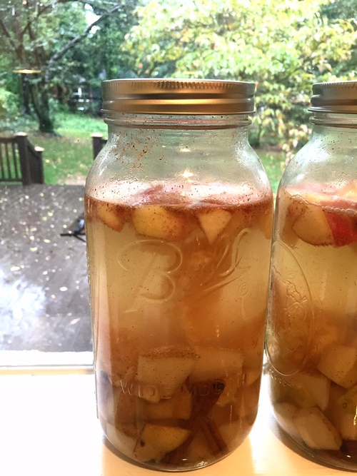 Fall Spiced White Sangria