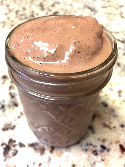 "Chocolate ""Peanut Butter"" Cup Milkshake"