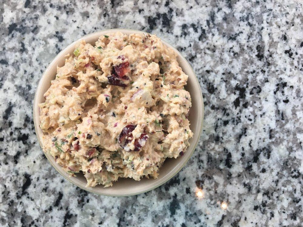 Mustard Dill Tuna Salad