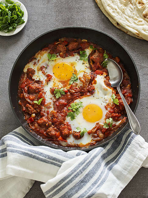 Sneak Peek from Weeknight Cooking for Two: Shakshuka