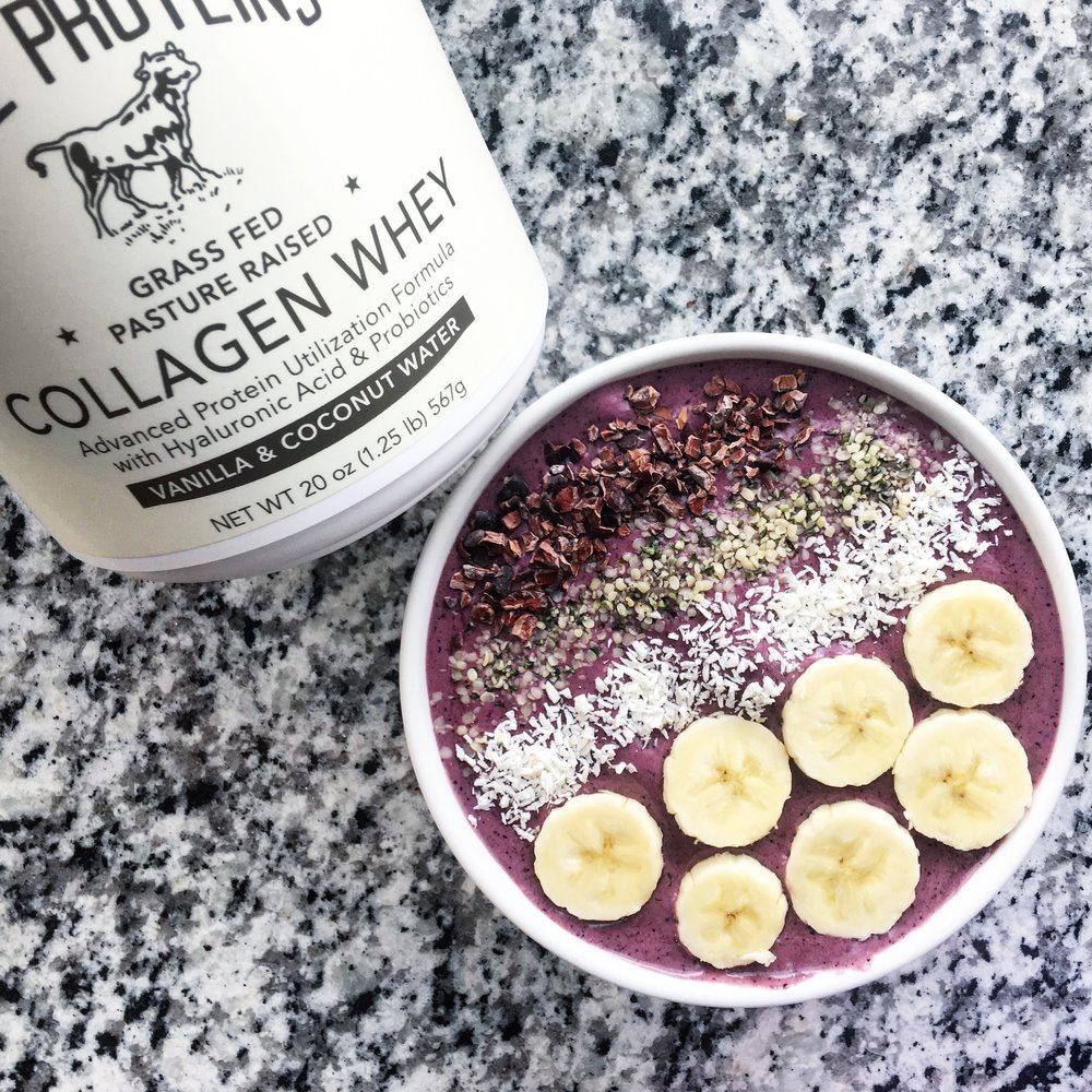 Collagen Acai Bowl