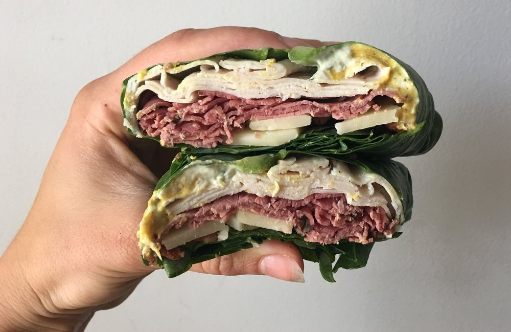 Collard Wrap Sammies