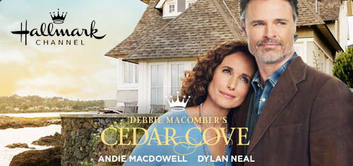 Cedar Cove -    a Hallmark Channel original series based on the author Debbie Macomber's book series,    Cedar Cove    focuses on Municipal Court Judge Olivia Lockhart's professional and personal life and the townsfolk surrounding her.