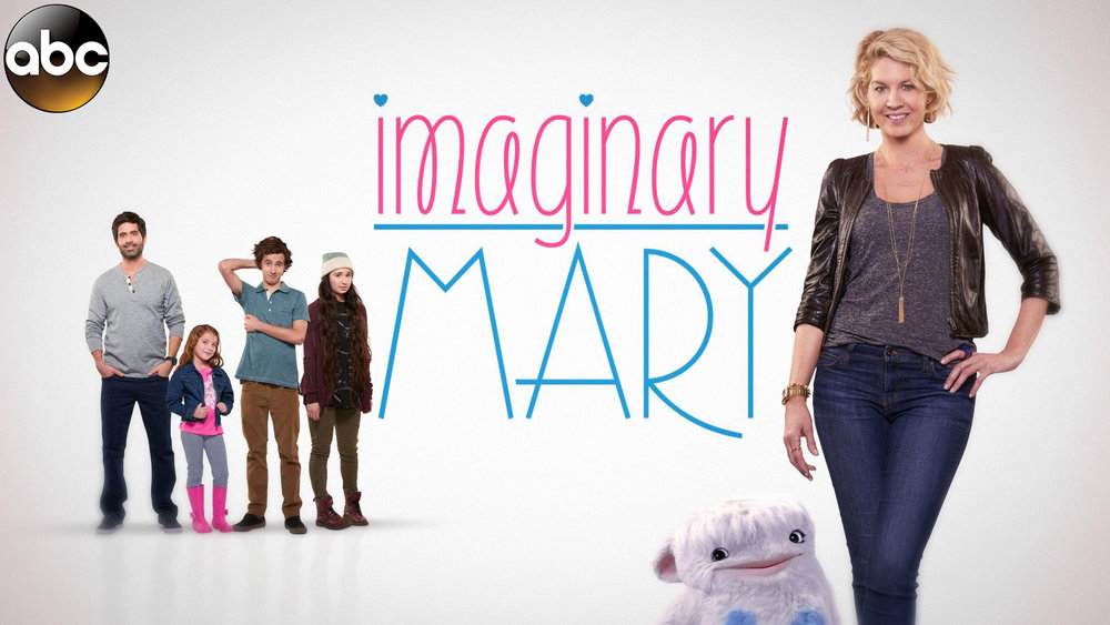 "Imaginary Mary -       stars ""Dharma & Greg"" vet Jenna Elfman as an independent career woman who falls in love with a divorced father of three. The dramatic change in her life gets even more interesting when the ""slightly unhinged"" imaginary childhood friend suddenly resurfaces to guide her through this critical juncture.        Click Below for Trailer:"