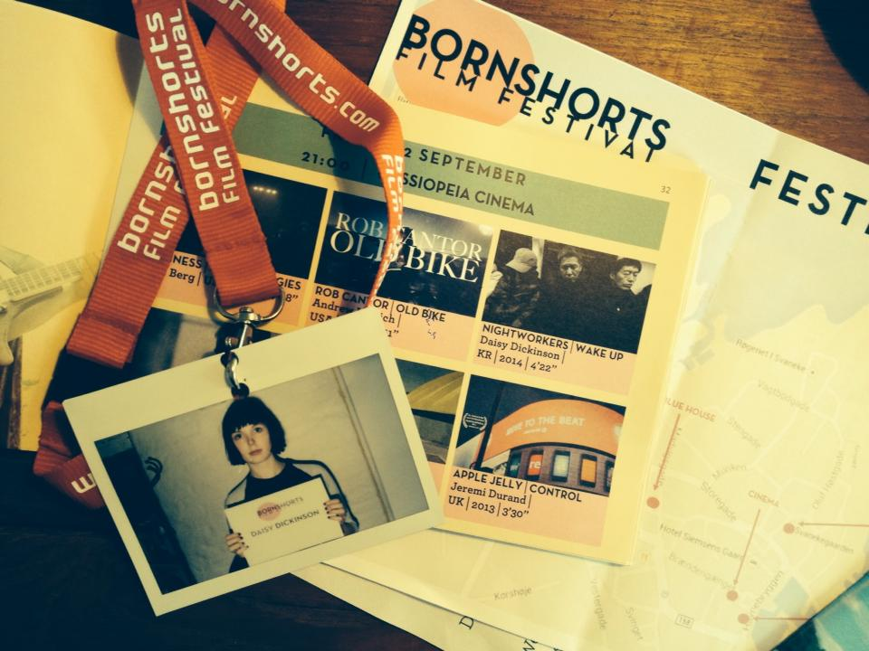 Official Selection Bornshorts Film Festival 2015