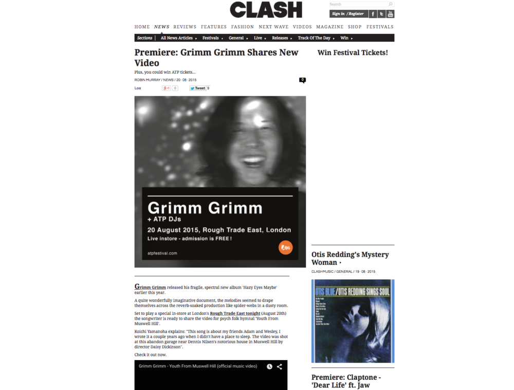 Grimm Grimm Music Video Clash Magazine