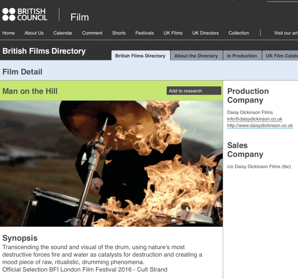 British Council Film