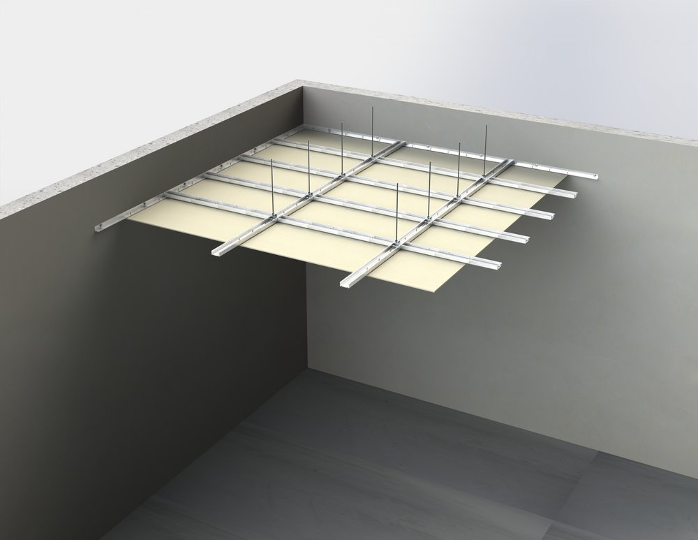 Suspended ceiling membranes