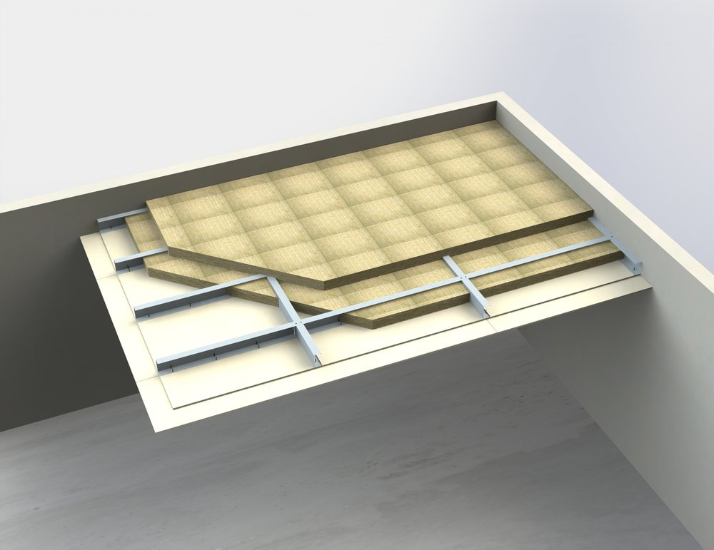 Self-supporting ceiling membranes
