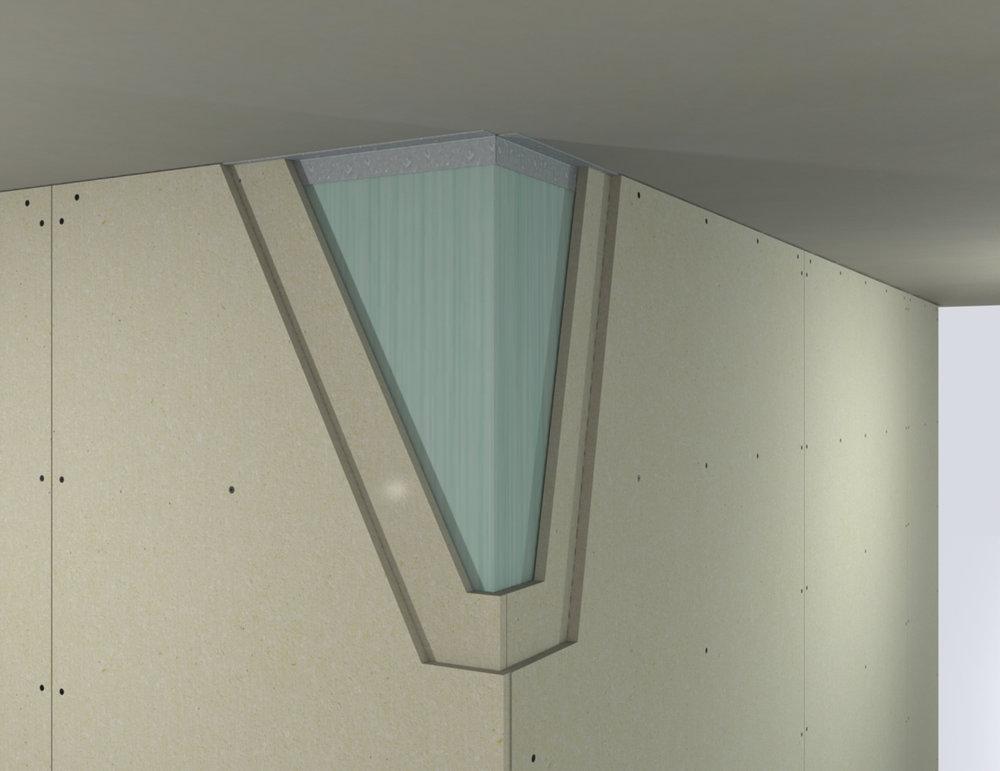 Plasterboard drywall upgrade