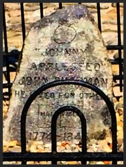 Grave of Johnny Appleseed, Fort Wayne Indiana
