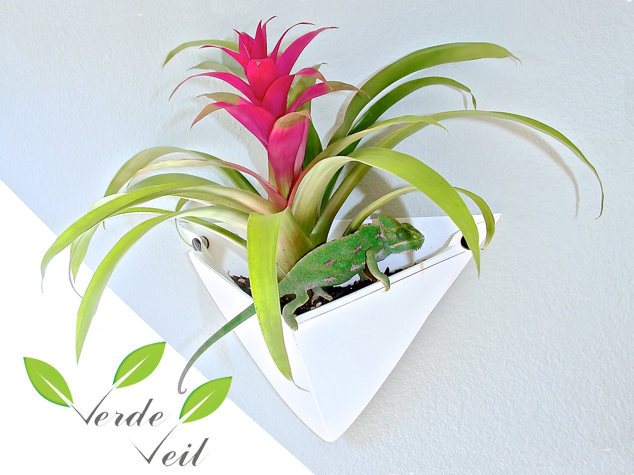 Verde Veil Origami Wall Planters on sale soon through Kickstarter